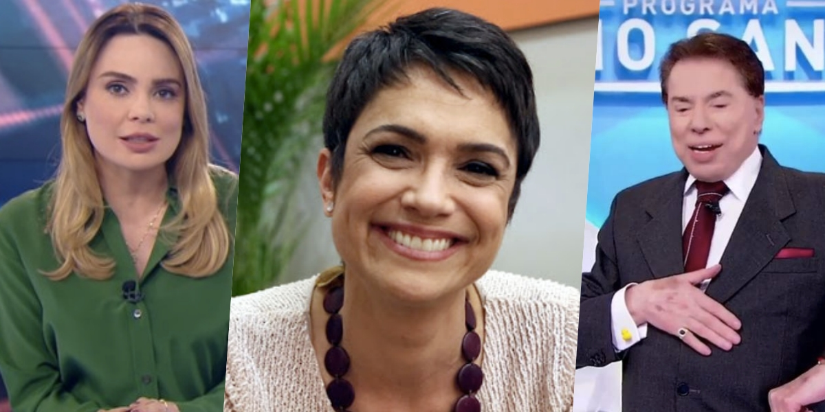 Sandra Annenberg pode subsistir Rachel Sheherazade no SBT (Foto: montagem)