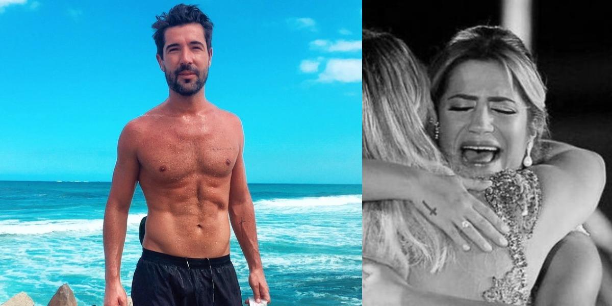 Sandro Pedroso foi casado com Jéssica Costa, filha de Leonardo (Foto: Reprodução/Instagram)