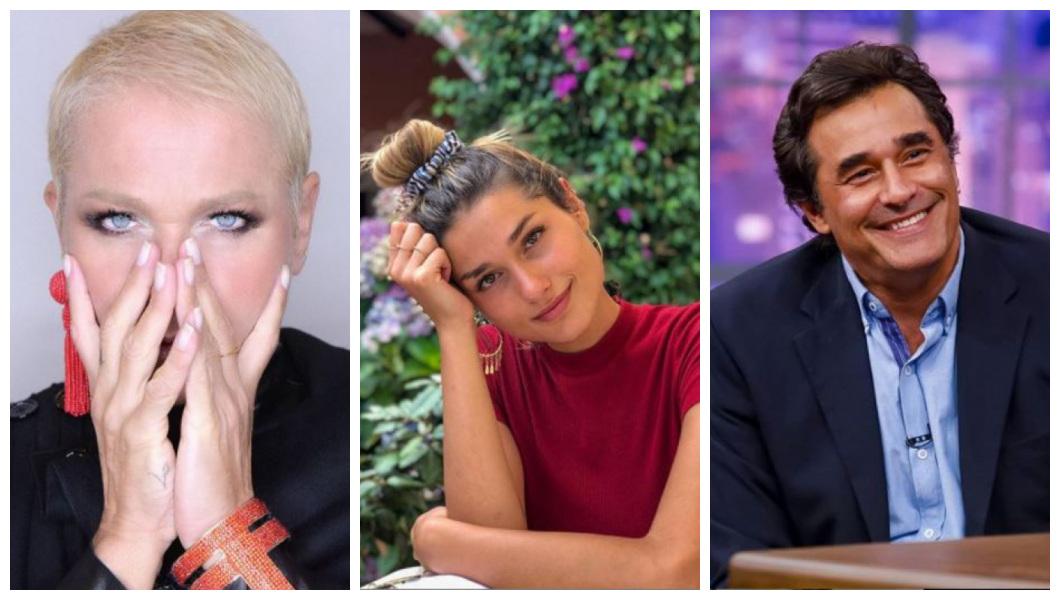 Xuxa, Sasha Meneghel e Luciano Zafir (Foto: Reprodução)