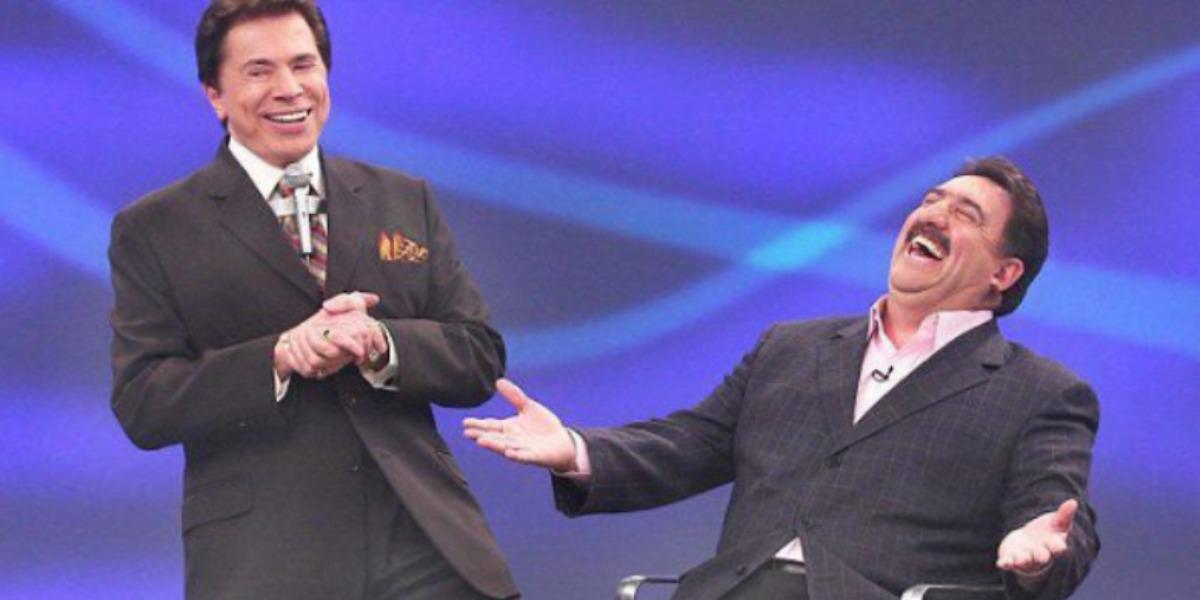 Ratinho e Silvio Santos (Foto: Divulgação/SBT)