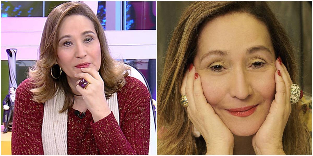 A apresentadora Sonia Abrão - Foto: Montagme