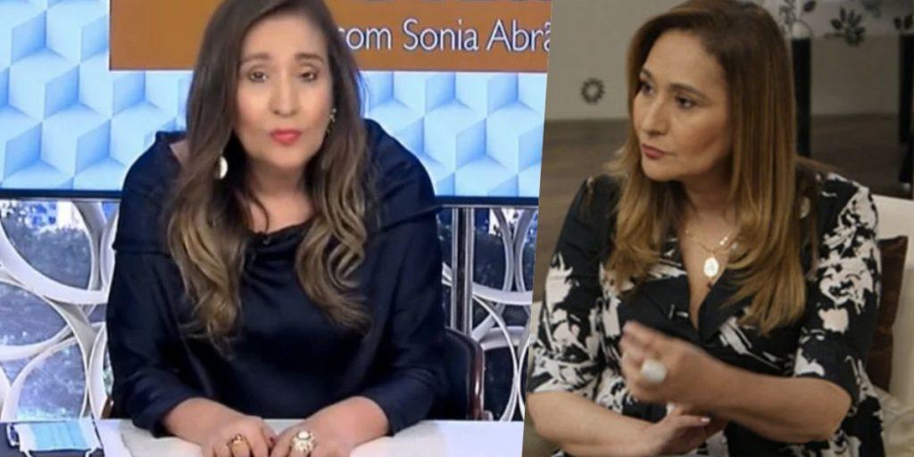 Sonia Abrão se enfreceu com um famoso da Globo (Foto: reprodução/RedeTV!)