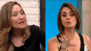 Sonia Abrão se irritou com o programa de Cátia Fonseca (Foto: Reprodução/RedeTV!/Band)