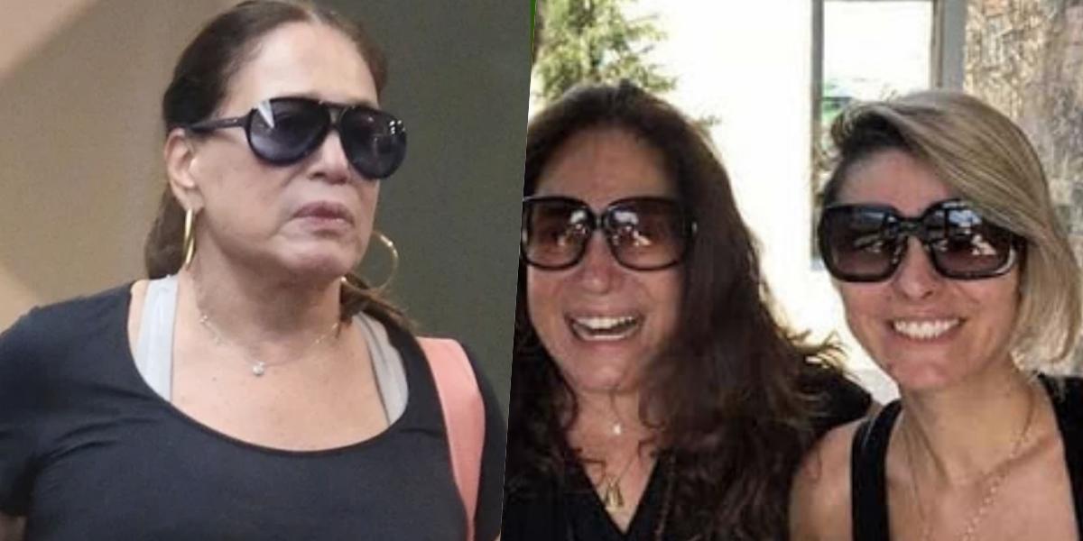 Susana Vieira e sua nora (Foto: montagem)