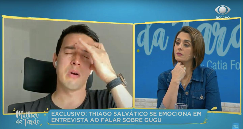 Thiago Salvático voltou a falar sobre a relação com Gugu (Foto: reprodução/Youtube)