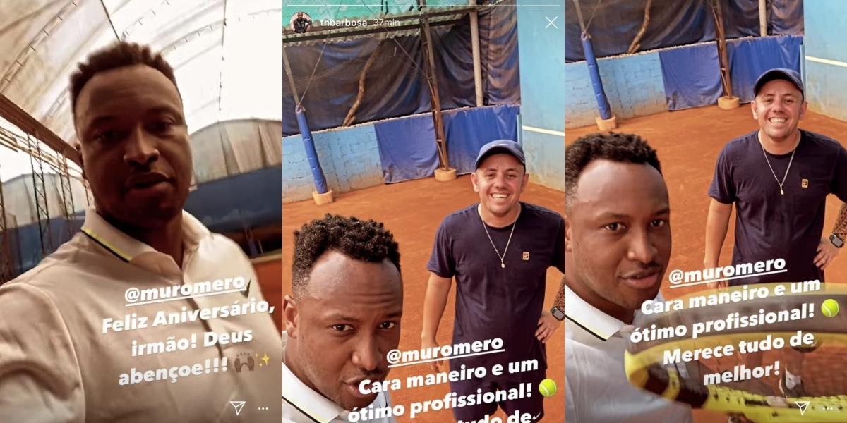 Thiaguinho se declarou para o professor (Foto: reprodução/Instagram)