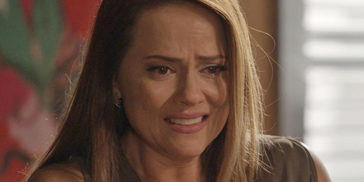 Lili (Vivianne Pasmanter) terá certeza de que viu a filha morta-viva em Totalmente Demais (Foto: Reprodução/Globo)