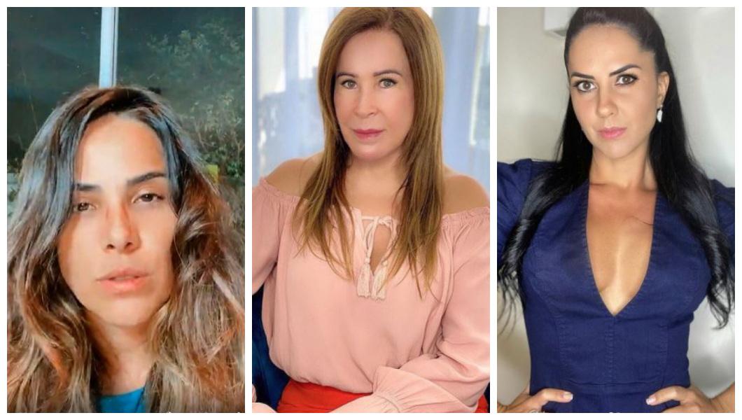 Wanessa, Zilu e Graciele Lacerda (Foto: Reprodução/ Instagram)
