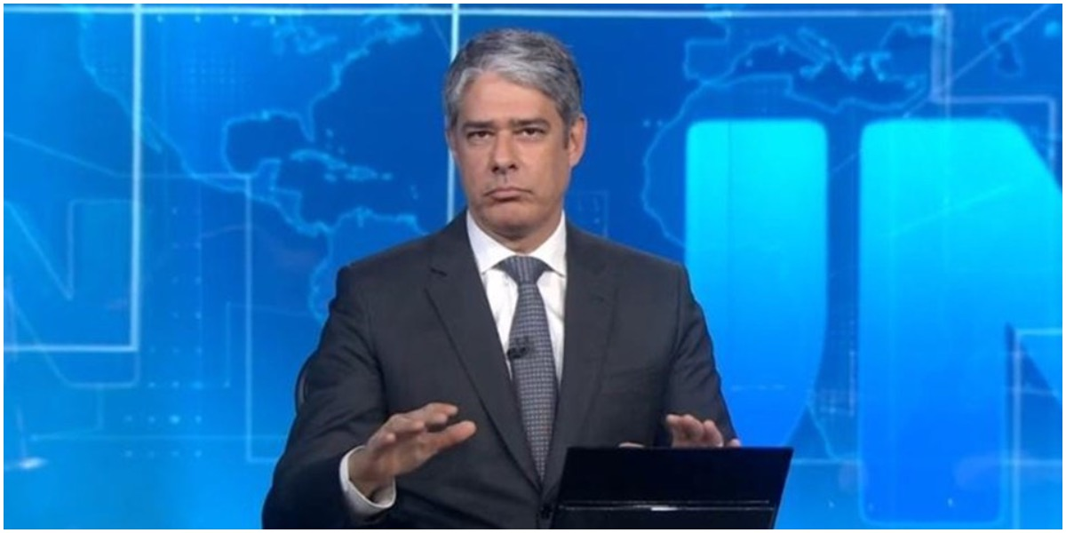 William Bonner perdeu para a TV Cultura (foto: Reprodução/TV Globo)
