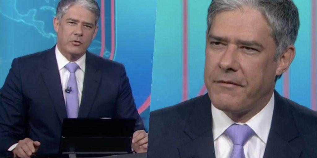William Bonner comanda o 'Jornal Nacional' (Foto: reprodução/Globo)