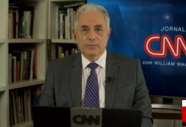 William Waack é o principal âncora da CNN Brasil (foto: Reprodução/CNN Brasil)