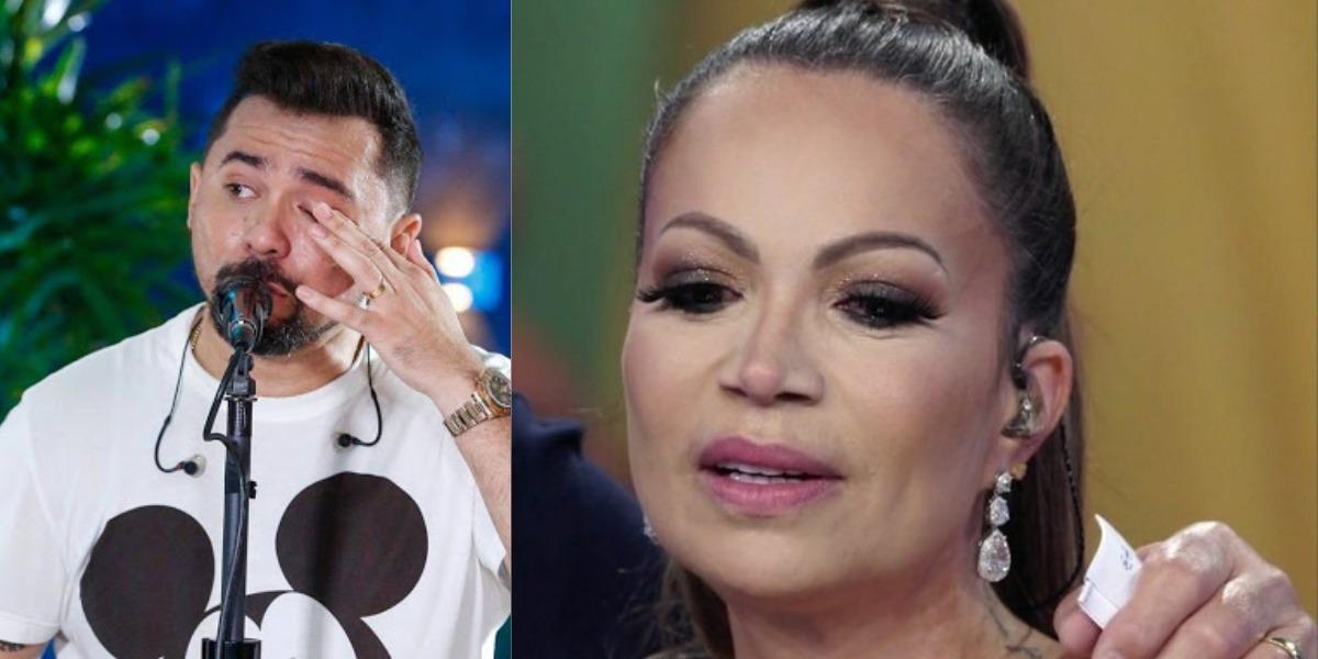 Xand Avião e Solange Almeida trabalharam juntos no Aviões do Forró (Foto: Youtube/TV Globo)