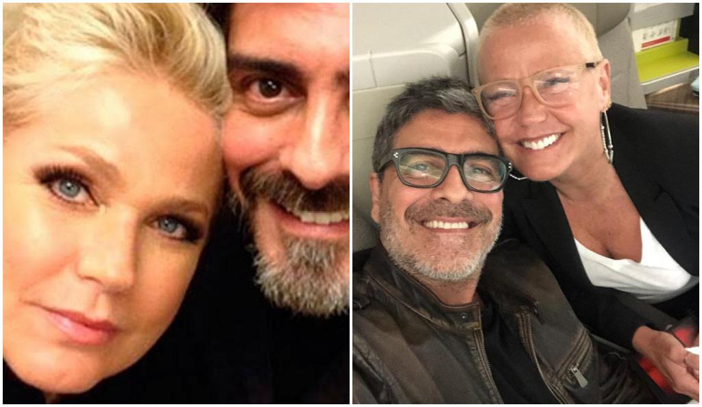 Xuxa quebrou o silêncio sobre o companheiro, Junno - Foto: Montagem