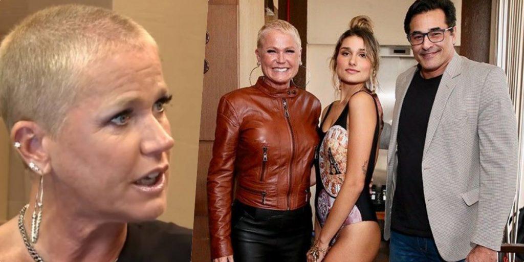 jogo envolvendo a filha e de certa maneira a apresentadora Xuxa (Foto montagem)