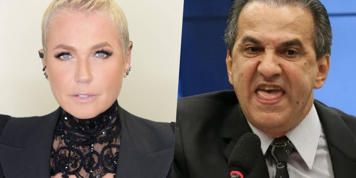 Xuxa pediu a prisão de Silas Malafaia (Foto: montagem)