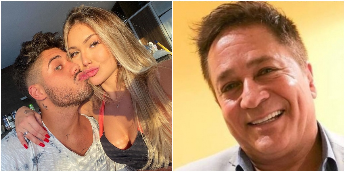 Zé Felipe negou suposta oferta de dinheiro feita por Leonardo para Virgínia Fonseca engravidar (Reprodução)