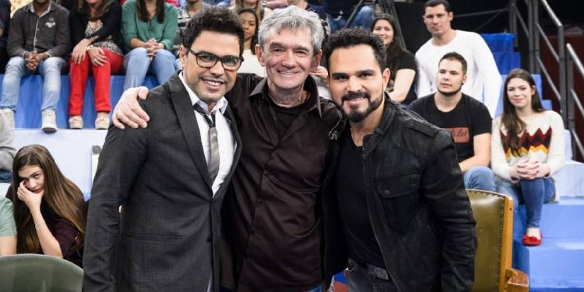 Zezé Di Camargo e Luciano participarão de uma entrevista online do Altas Horas (Foto: Divulgação/TV Globo)