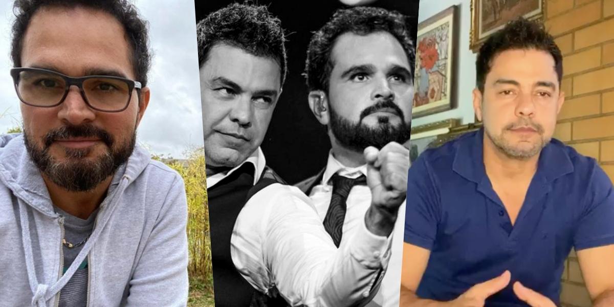 Zezé di Camargo e Luciano (Foto: montagem)