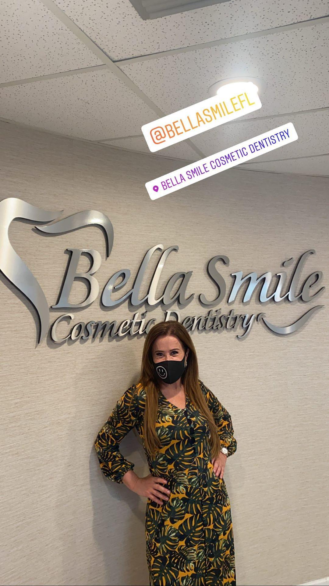 Zilu em clínica de tratamento dental (Foto: Reprodução/ Instagram)