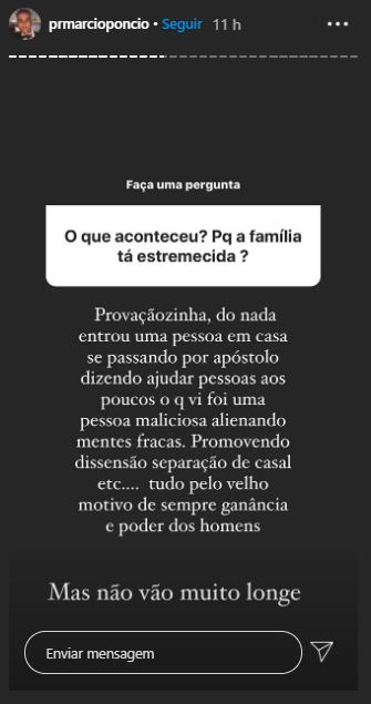 Família Poncio está passando por um momento de crise (Foto: Reprodução/ Instagram)