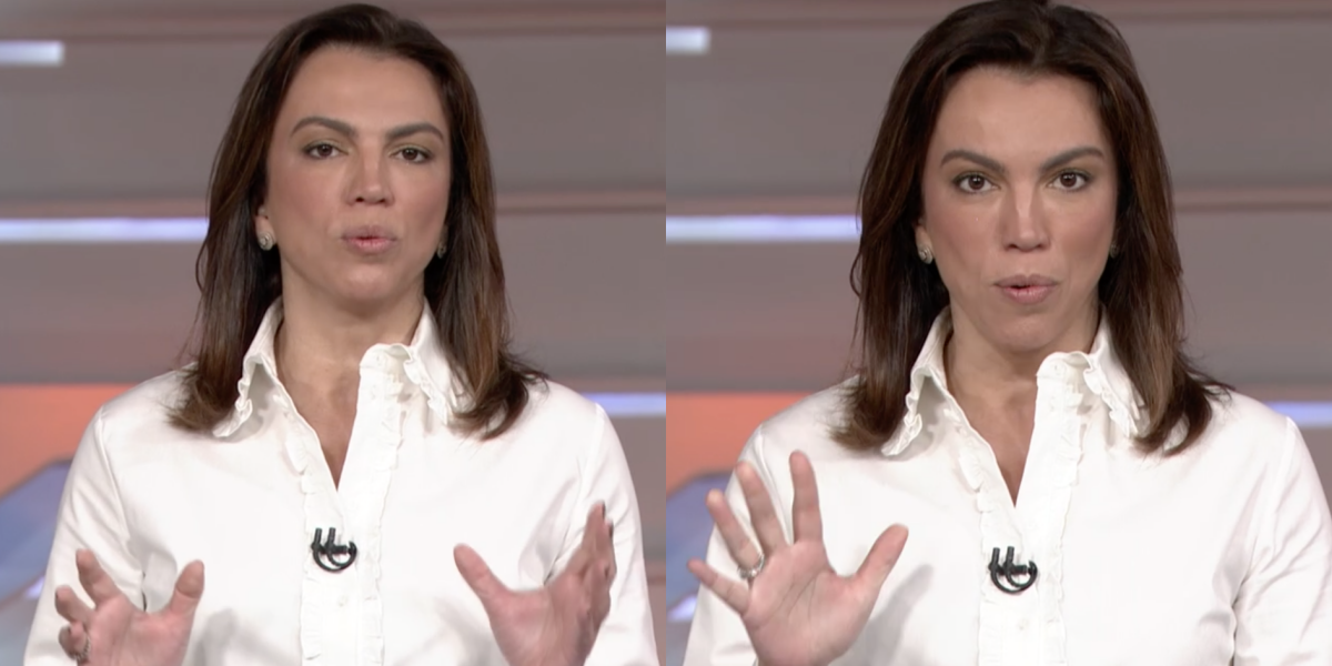Ana Paula Araújo comanda o Bom Dia Brasil (Foto: Montagem)