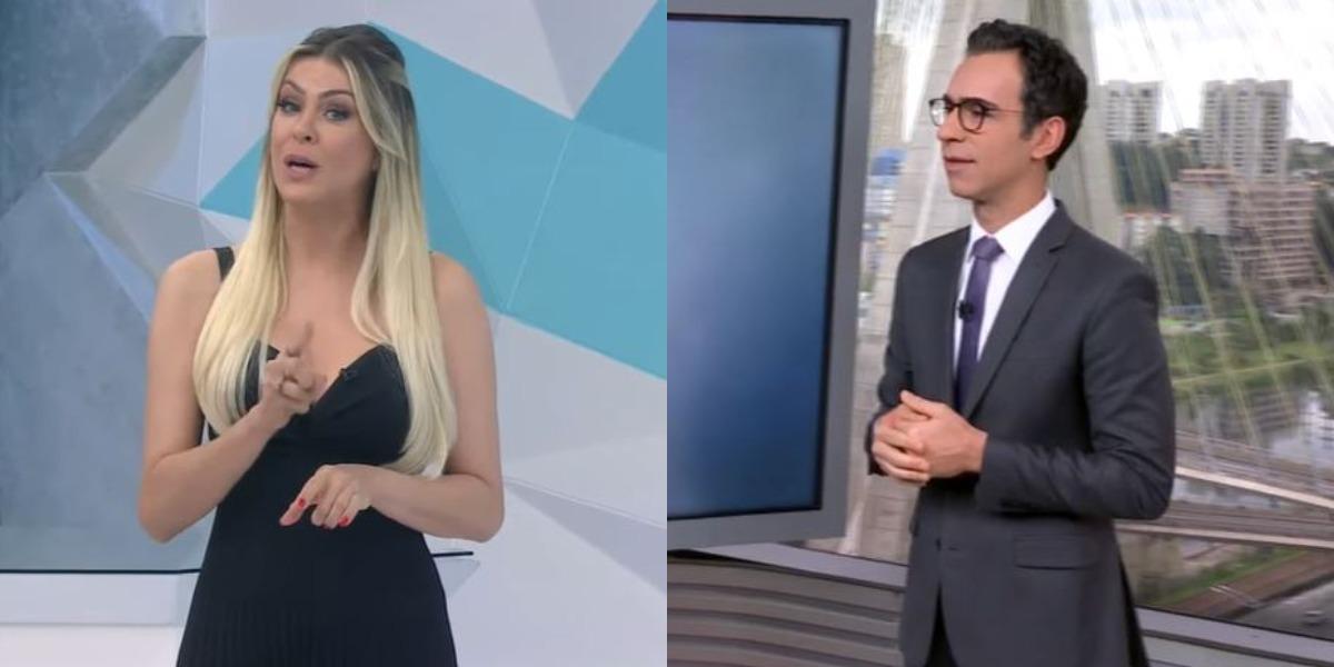 Jogo Aberto e SP1 foram destaques de audiência (Foto: Reprodução/Band/TV Globo)