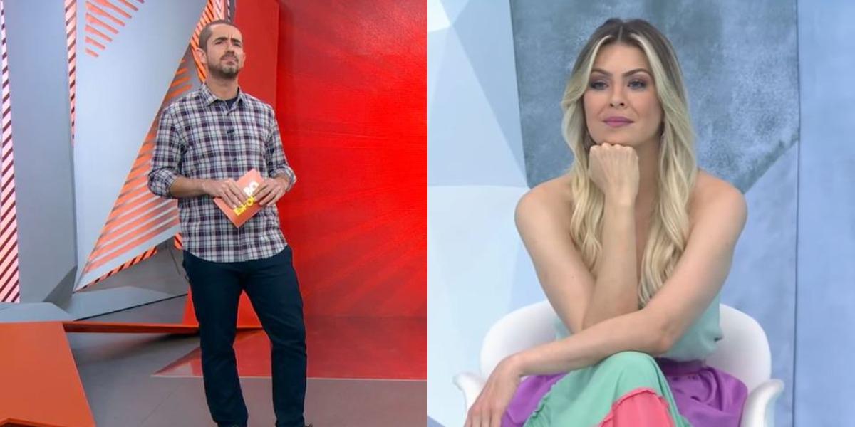 """""""Globo Esporte"""" e """"Jogo Aberto"""" foram destaques de audiência (Foto: Reprodução/TV Globo/Band)"""