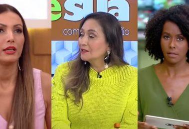 Encontro, A Tarde é Sua e Jornal Hoje foram destaques de audiência (Foto: Reprodução/TV Globo/RedeTV!)