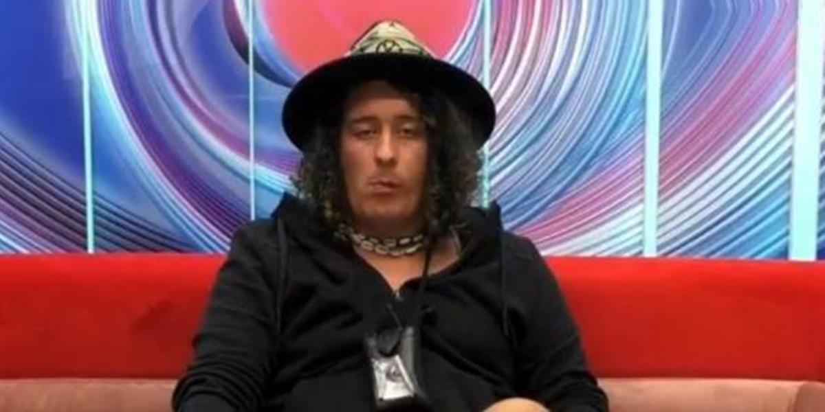 André Filipe, participante do Big Brother Portugal foi expulso do reality e internado em clínica após surto psicótico (Foto: Reprodução)