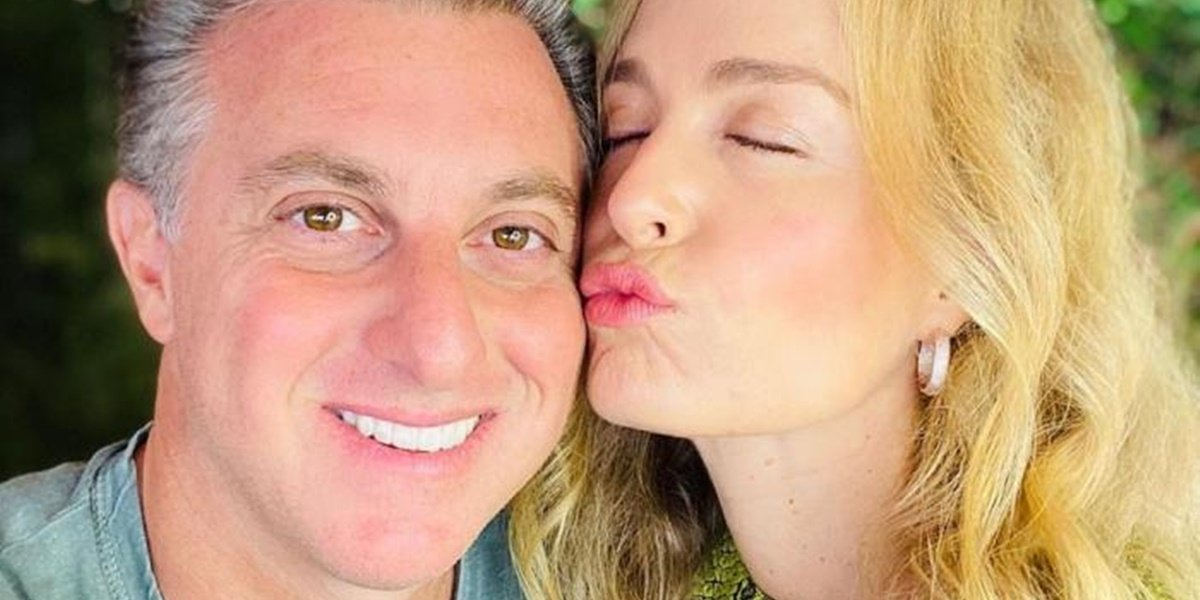 Angélica e Luciano Huch são casados (Foto: Reprodução)