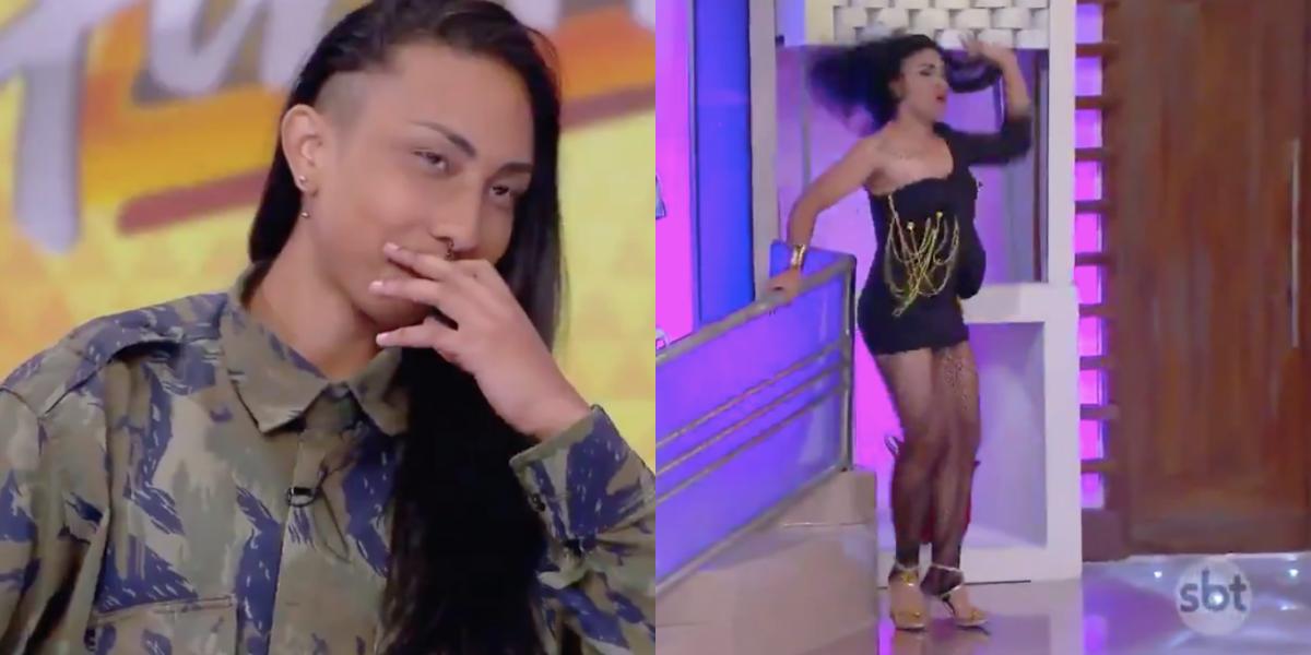 SBT promove discussão sobre drag queens (Foto: Montagem)