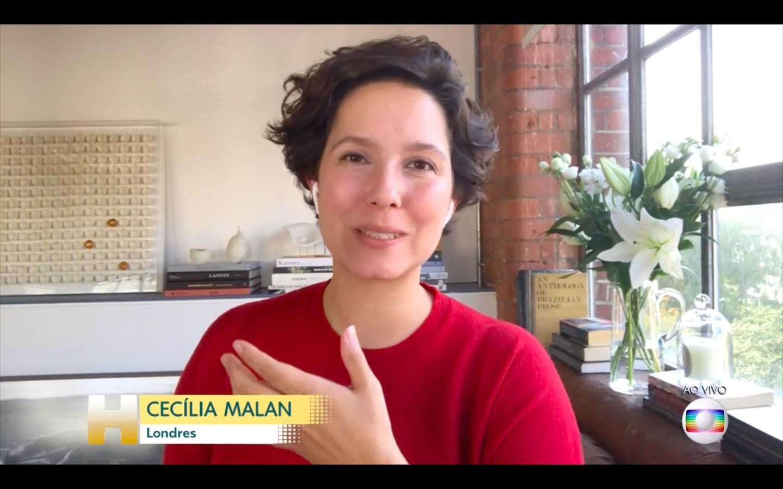 Cecília Malan conta os detalhes sobre a notícia no Jornal Hoje (Foto: Reprodução Globoplay)