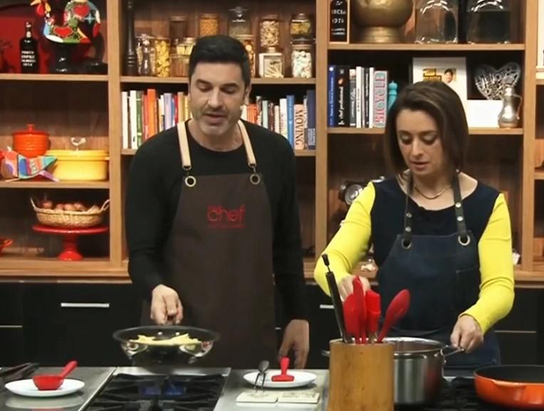 Catia Fonseca participa da estreia do The Chef (Foto Reprodução)