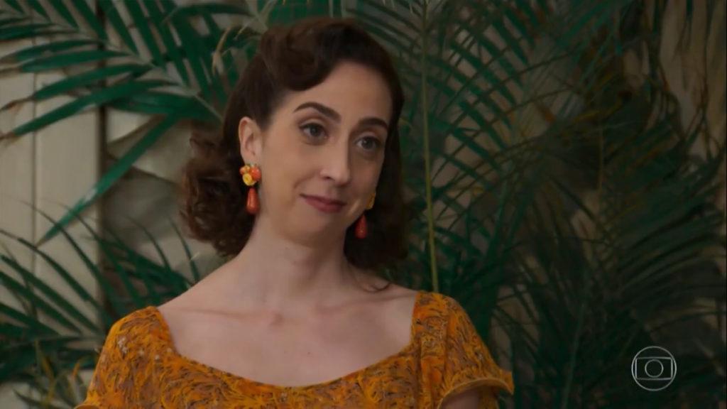 Mariana Armellini foi quem deu vida para Clarice de Êta Mundo Bom