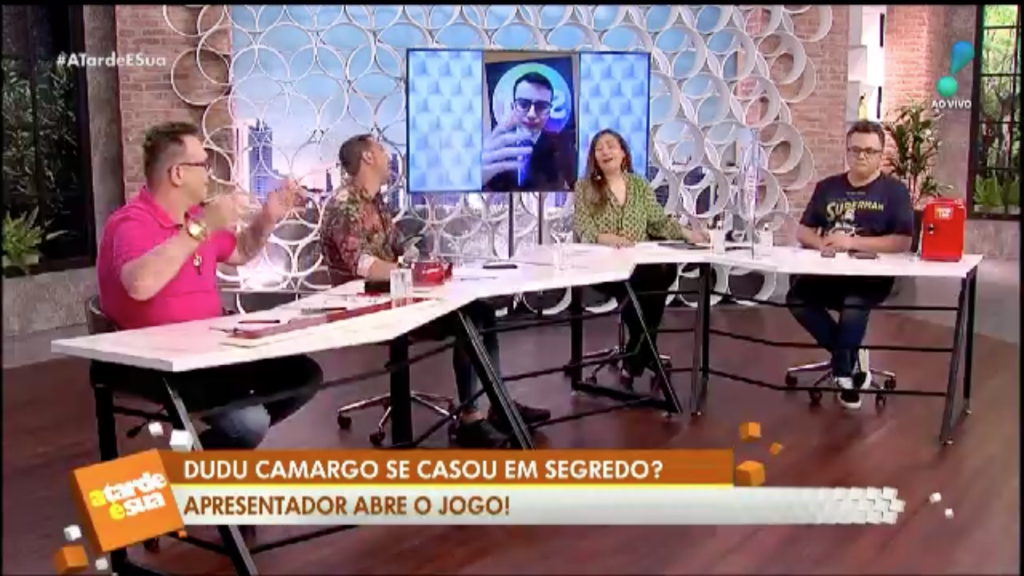 Jornalista do A Tarde é Sua falam de Dudu (Foto: Reprodução)
