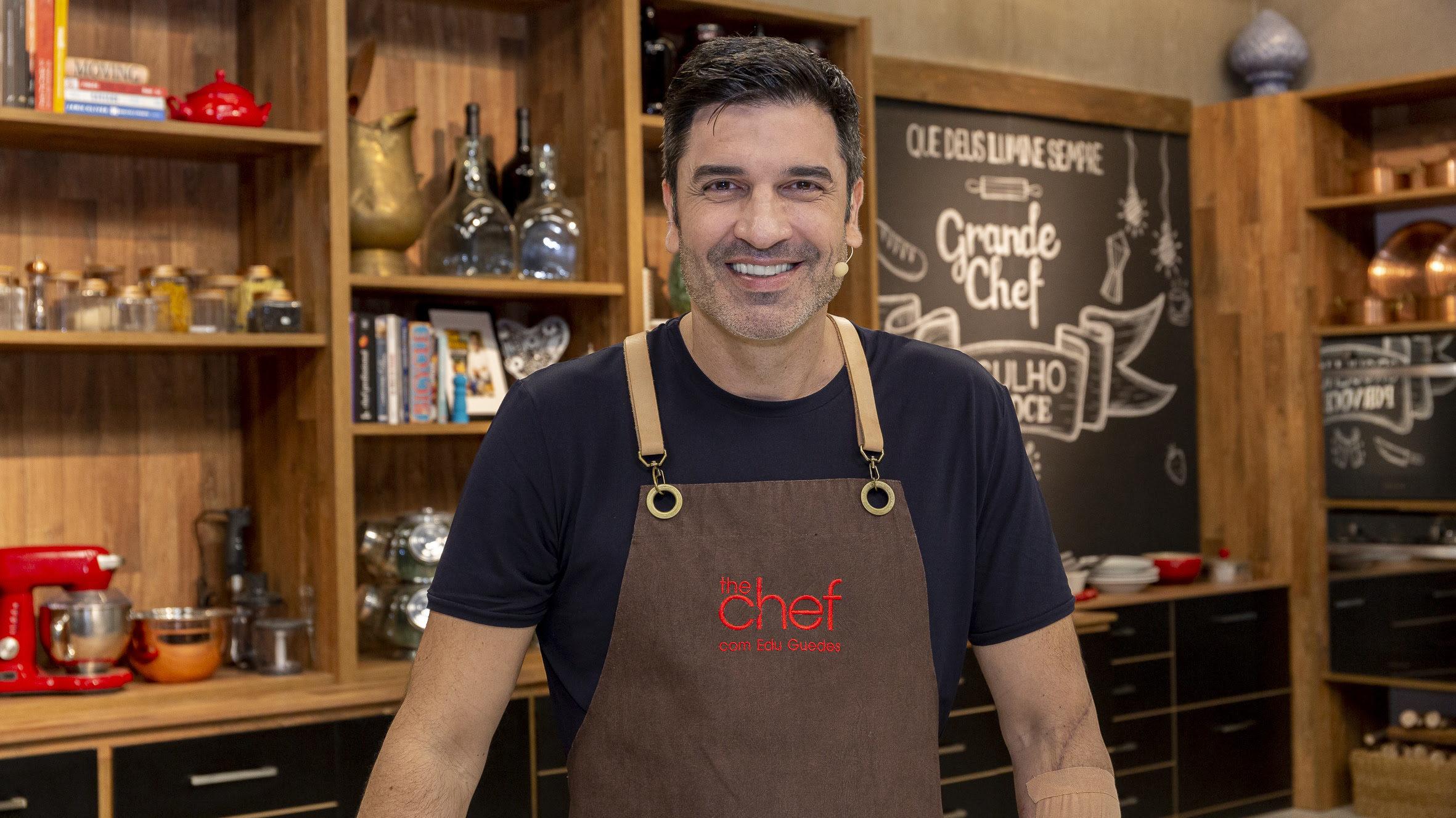 Edu Guedes no novo programa (Foto Divulgação)