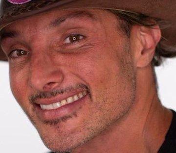 Juliano no reality show (Foto: Reprodução)