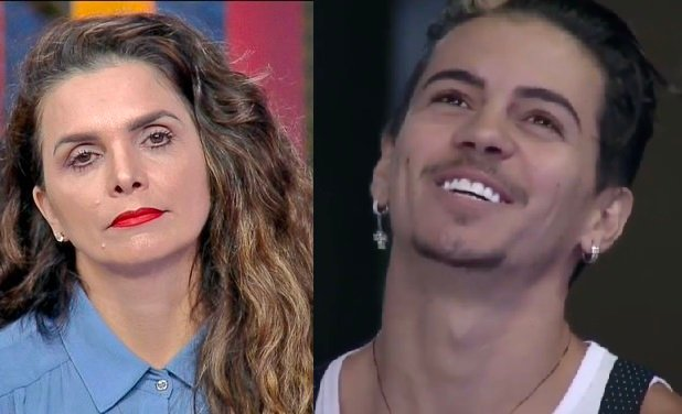 Luiza Ambiel e Biel (Foto: Reprodução)