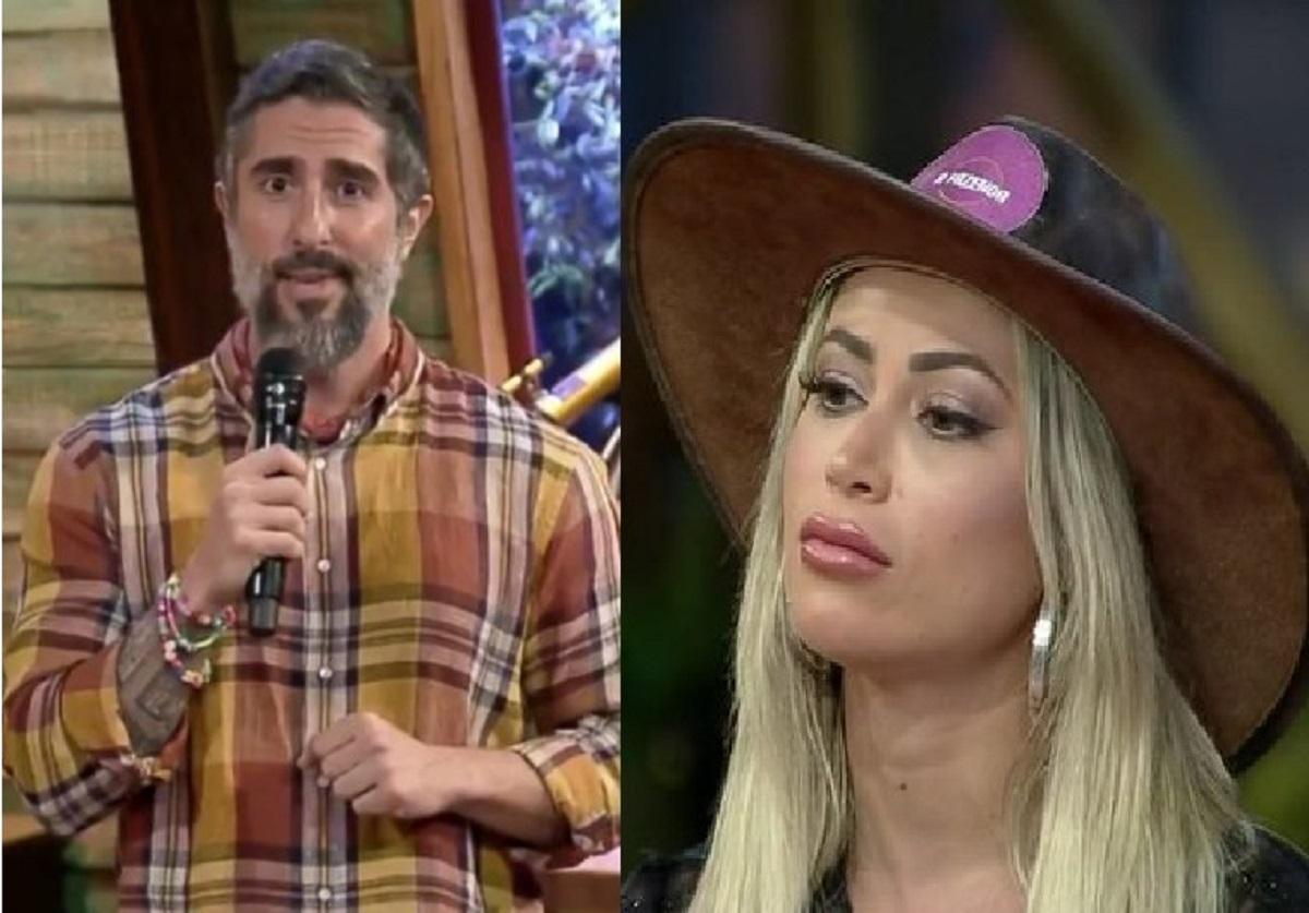 Mion criticou postura de Narizinho como fazendeira (Foto: Reprodução) A Fazenda