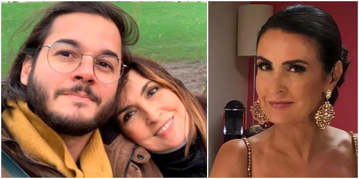 Fátima Bernardes ao lado do namorado, Túlio Gadêlha (Reprodução)