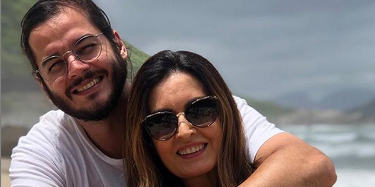 Globo: Túlio Gadêlha e Fátima Bernardes (Foto: Reprodução)