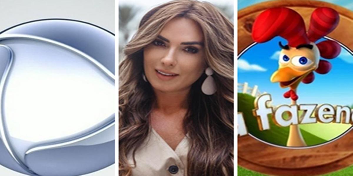 Nicole Bahls deixou escapar alguns nomes confirmados em A Fazenda 12 (Foto: Montagem/TV Foco)