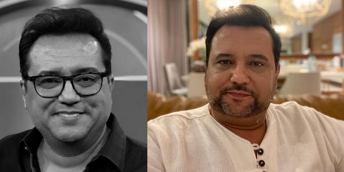 Geraldo Luís é contratado da Record (Foto: Montagem)