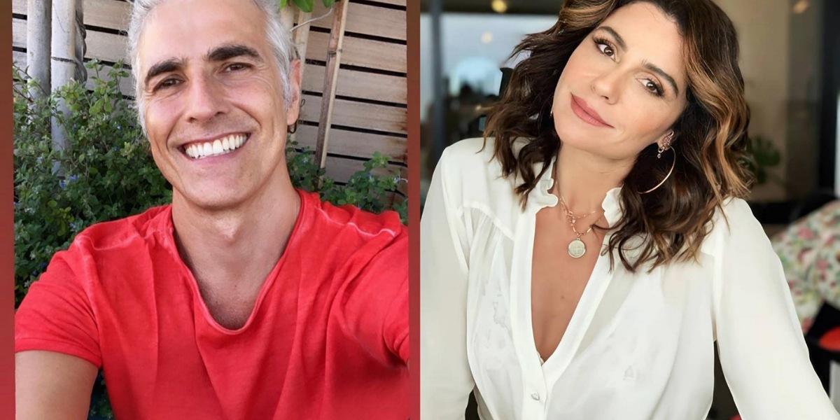 Reynaldo Gianecchini e Giovanna Antonelli relembram momentos da amizade (Foto: Reprodução/Instagram)