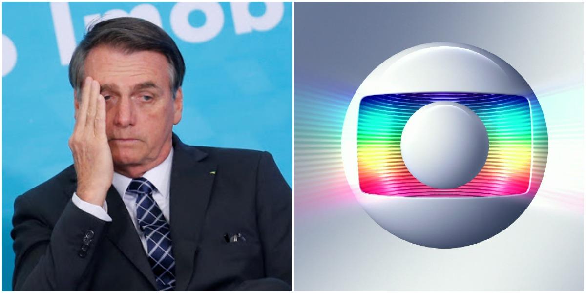 Bolsonaro cita discurso de Roberto Narinho durante apoio da Globo ao golpe de 1964 (Foto: Reprodução)