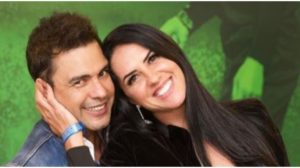 Graciele Lacerda e Zezé Di Camargo (Foto: Instagram)