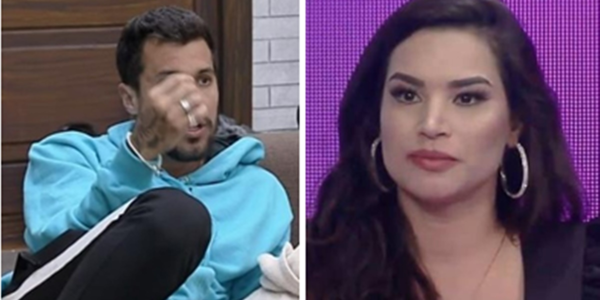 Lipe Ribeiro detonou Raissa Barbosa em A Fazenda 12 (Foto: Montagem/TV Foco)
