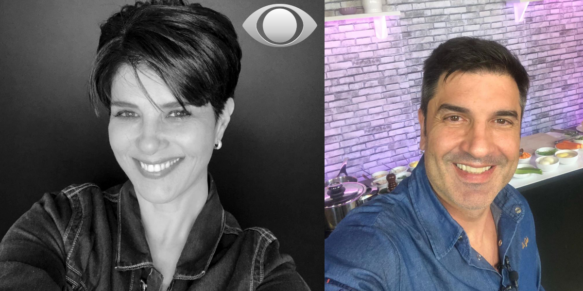 Mariana Godoy e Edu Guedes na mesma emissora? (Foto: Montagem)