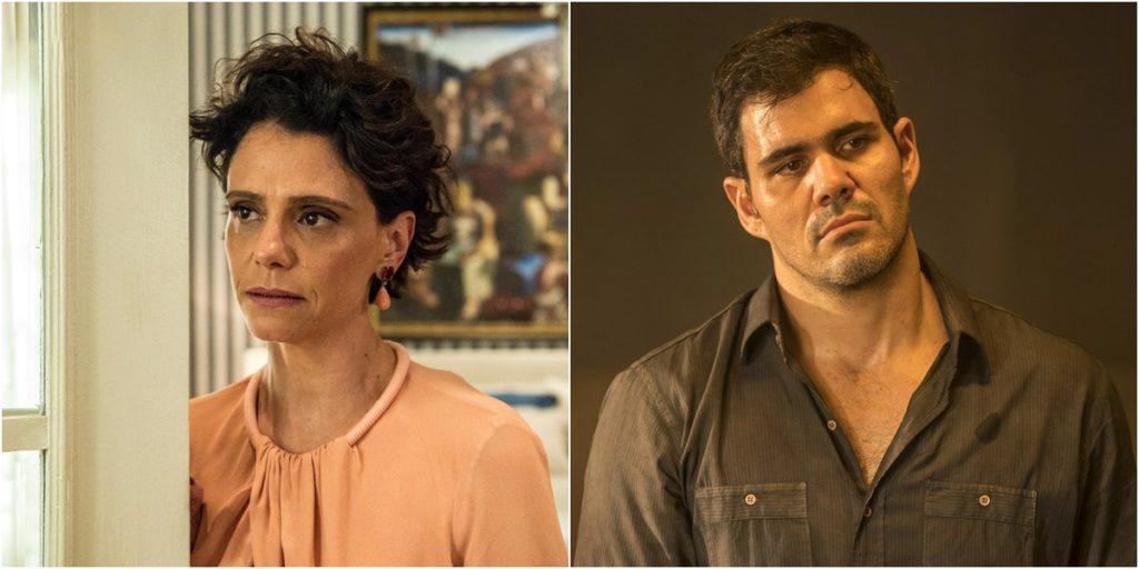 Malu Galli e Juliano Cazarré terão Covid-19 em Amor de Mãe. (Foto: Montagem/Divulgação)