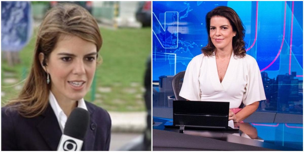 Âncora da Globo, Mariana Gross repercutiu o caso Flordelis no Twitter (Reprodução)